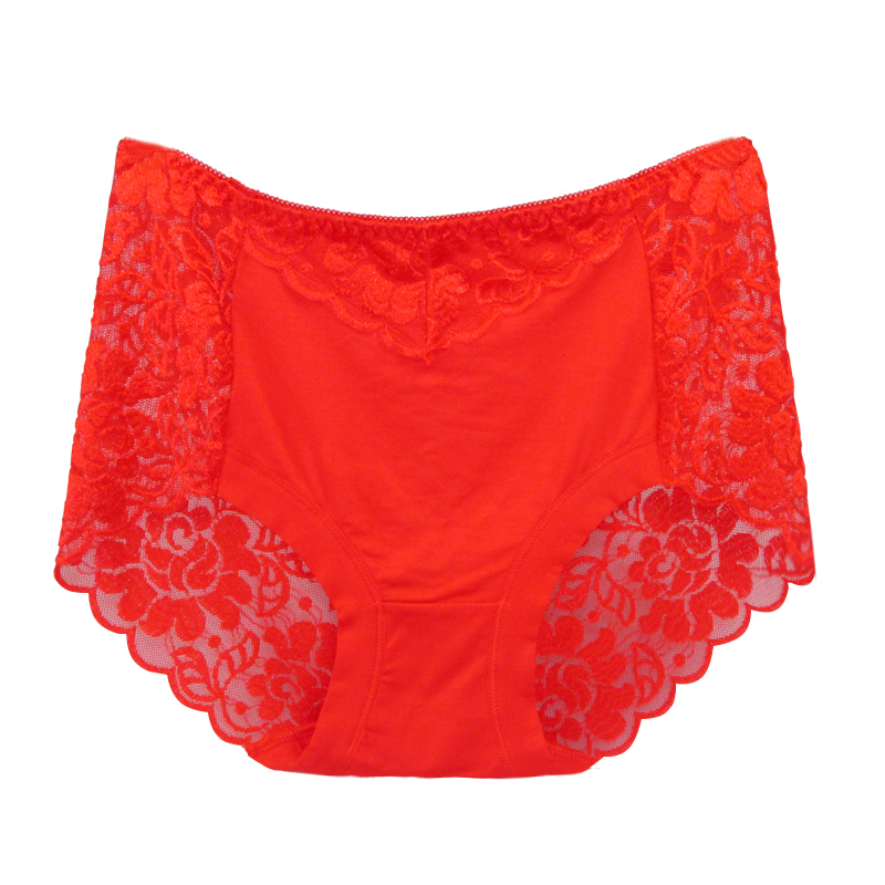 Underwear Women   Panties   Perspective Sexy Brand Full Transparent   Panty   Woman Lace Knickers Period   Panty   Plus Size Briefs XK