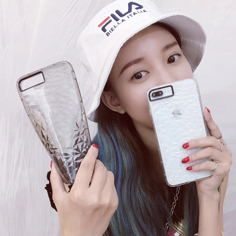 3D Diamond Pattern Phone Case For iPhone X Luxury Ultra Thin Soft TPU Cases For iPhone 7 8 6 6s Plus 5 5 S SE Shining Cover Capa (9)