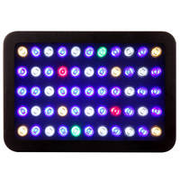 Aquarium Grow Light 165W LED Full Spectrum Adjustable with Crystal Lens for Fish Tank/ Coral Reef Growing