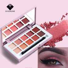 US $4.12 15% OFF|GIVENONE Fashion eyeshadow palette 10Colors Matte Eye Shadow palette Glitter eye shadow MakeUp Nude MakeUp set Cosmetics-in Eye Shadow from Beauty & Health on Aliexpress.com | Alibaba Group