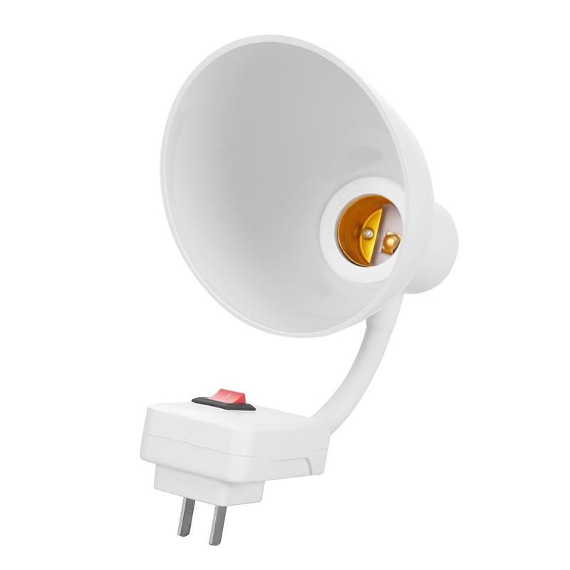 E27-E27 Flexible Extension Lamp Base Adapter Converter Use LED Or Energy-saving Lamp Holder Socket  Suitable For Family Hotel