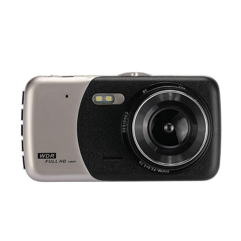 Dash Cam Car Dvr Dual Lens Night Vision Automobile Driving Recorder Dvr Camcorder Car Camera Video Recorder Motion Detection