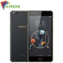 Оригинальный Нубия M2 Lite мобильный телефон 3 ГБ Оперативная память 32 ГБ Встроенная память Octa Core 5.5 дюймов 16MP двойной 13MP Камера Android N 3000 мАч LTE смартфон