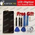 Para xiaomi mi4c display lcd + touch screen + ferramentas 100% nova substituição digitador assembléia para xiaomi mi4c mi 4c (Prime)