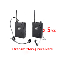 Takstar UHF 938 UHF 938 UHF Frequency Wireless Tour Guide System 50m Operating Range 1 Transmitter