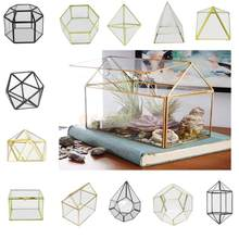 Magideal Verschillende Onregelmatige Glas Geometrische Succulente Planter Vaas Terrarium Container Tafelblad Pot Diy Home Office Wedding Decor(China)