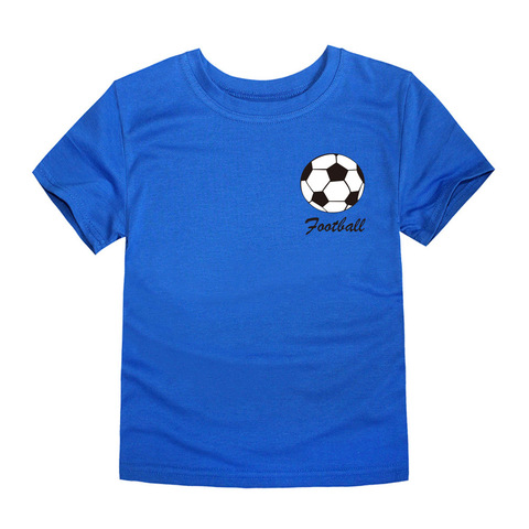 2018 Summer Brand New Football Team Clothing Children Tops Boys T Shirts Kids Tees for 1-14 Years Football Boys Tees Lahore