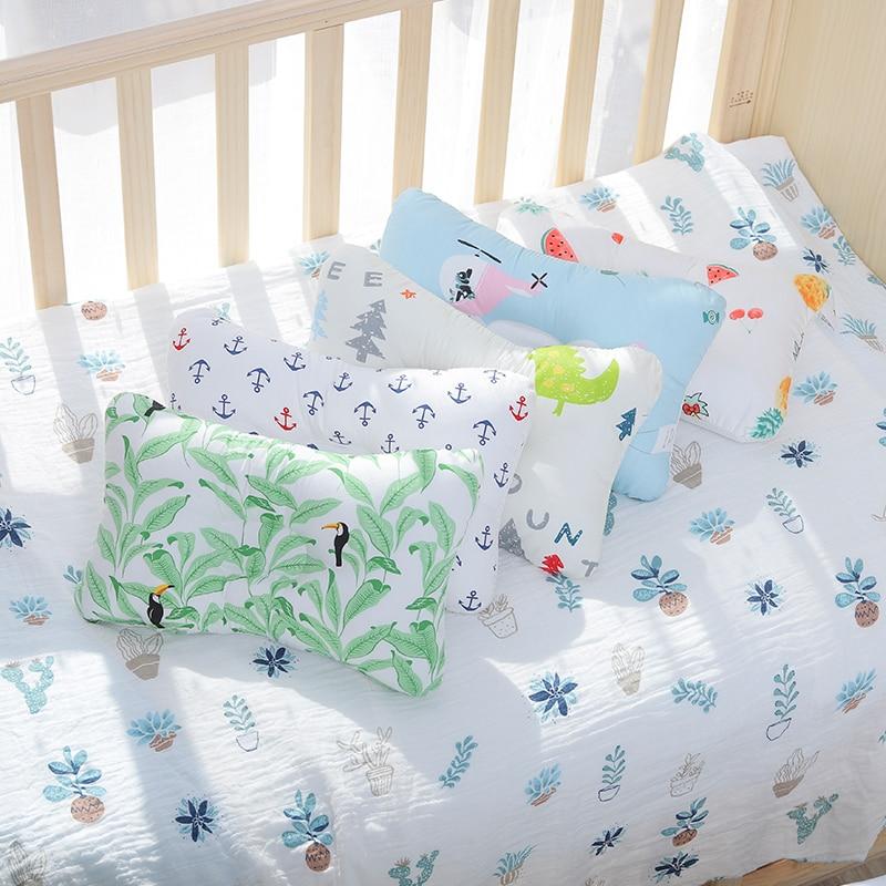 Baby Pillow Crib Flat Head Shaping Protection Newborn Nursing Kids Feeding Breastfeeding Cushion Support Room Decor Accessories