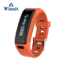 Winait 2018 F1 smart bracelet with Capacitive touch screen Environmental Silicone Strap