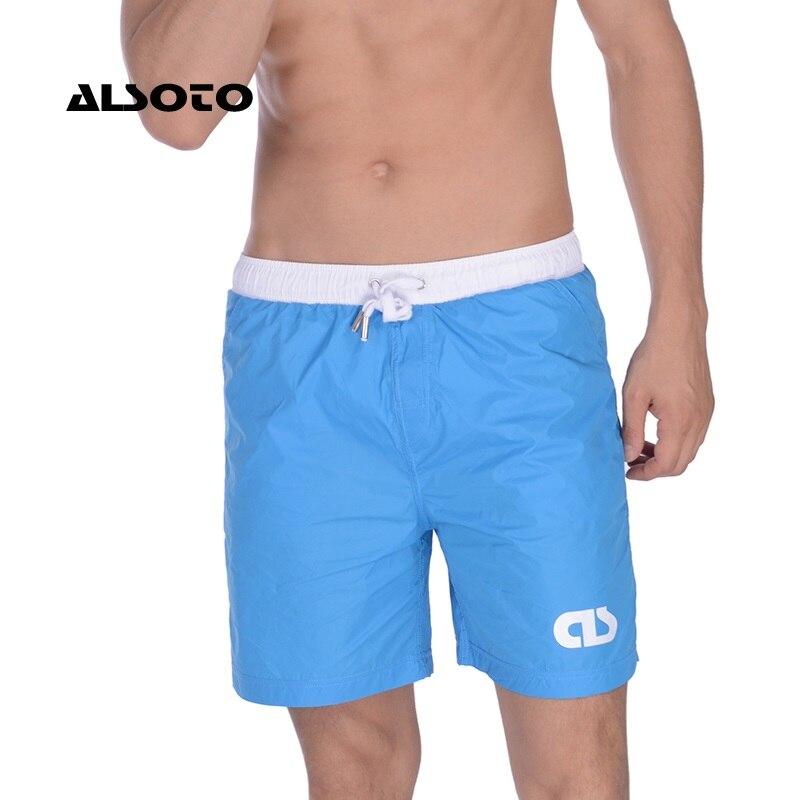 ALSOTO Quick Drying Men's   Board     Shorts   Popular Men's Jogger   Short   Fashion Sexy Men's   Board     Short   Men Swimwear Drop Shopping