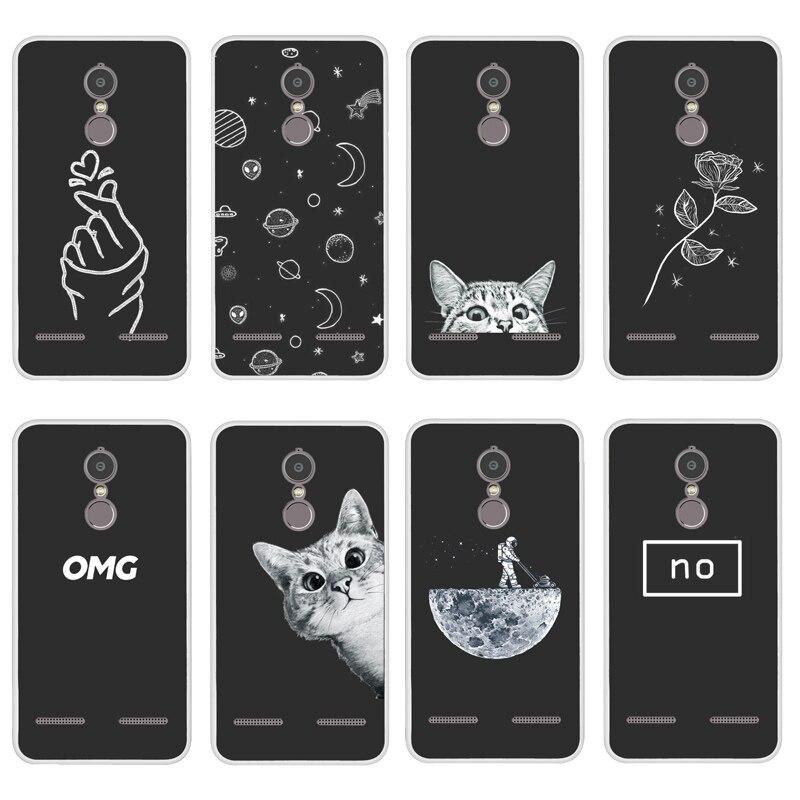 Soft Silicone For Lenovo K6 Case Cover Painting Case For Lenovo K6 Power K33A42 Pattern Matte Phone Cases Flower Funda