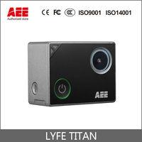 המקורי AEE LYFE טיטאן 4 K/30 fps 1440/60 fps 1080 P/100 fps ספורט & מצלמה פעולה מרחוק WiFi 1.8 מסך מגע HD go pro מצלמת