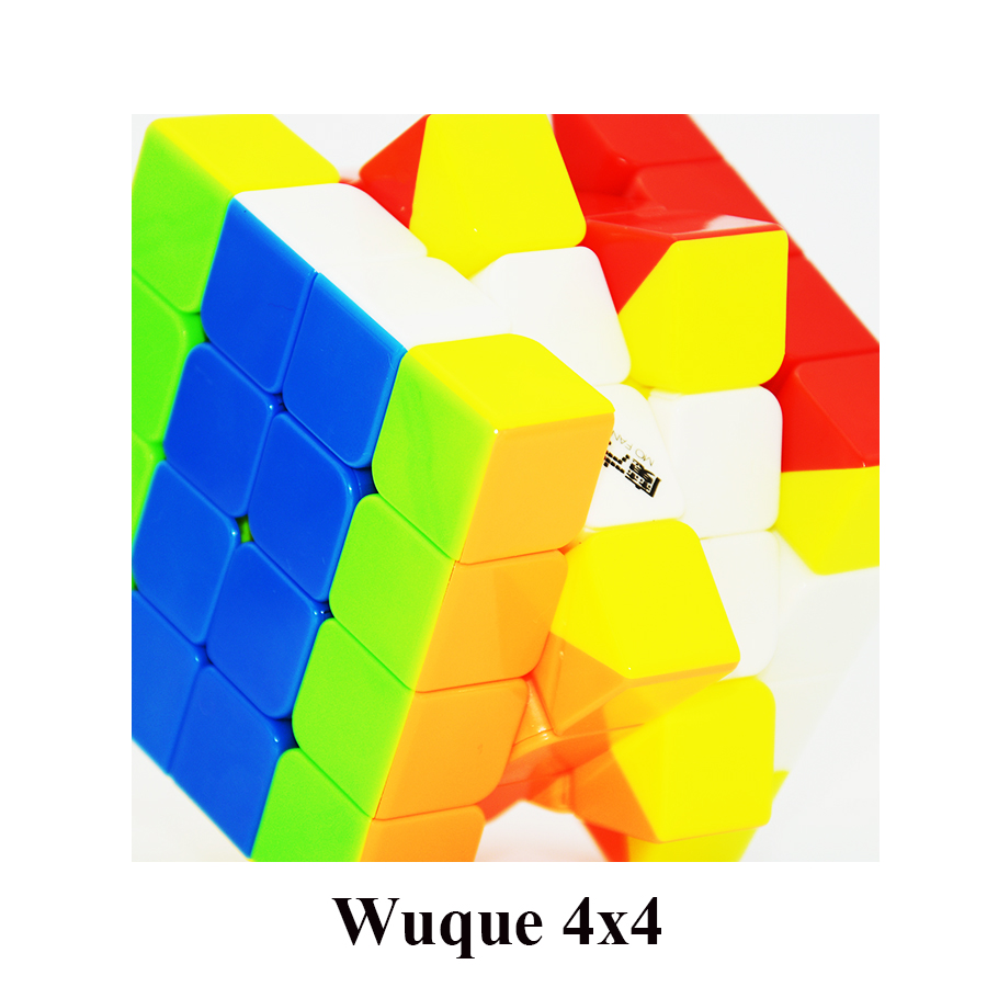 Mofangge Cube Wuque 4 Couches 4x4x4 Speedcube Qiyi Magic Cube Vitesse Puzzle Cubes Drop Shipping