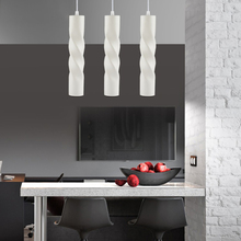 Dimmable Cylinder Pipe Pendant Lights Use in Kitchen Island Dining Room Shop Bar Counter Decoration Pendant Lights