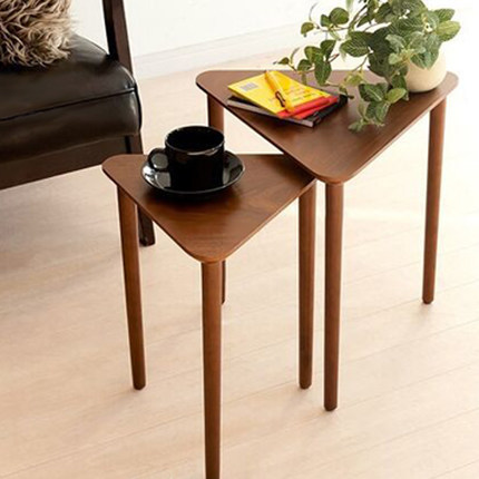 Solid wood side of the corner a few modern minimalist small coffee table living room sofa side table