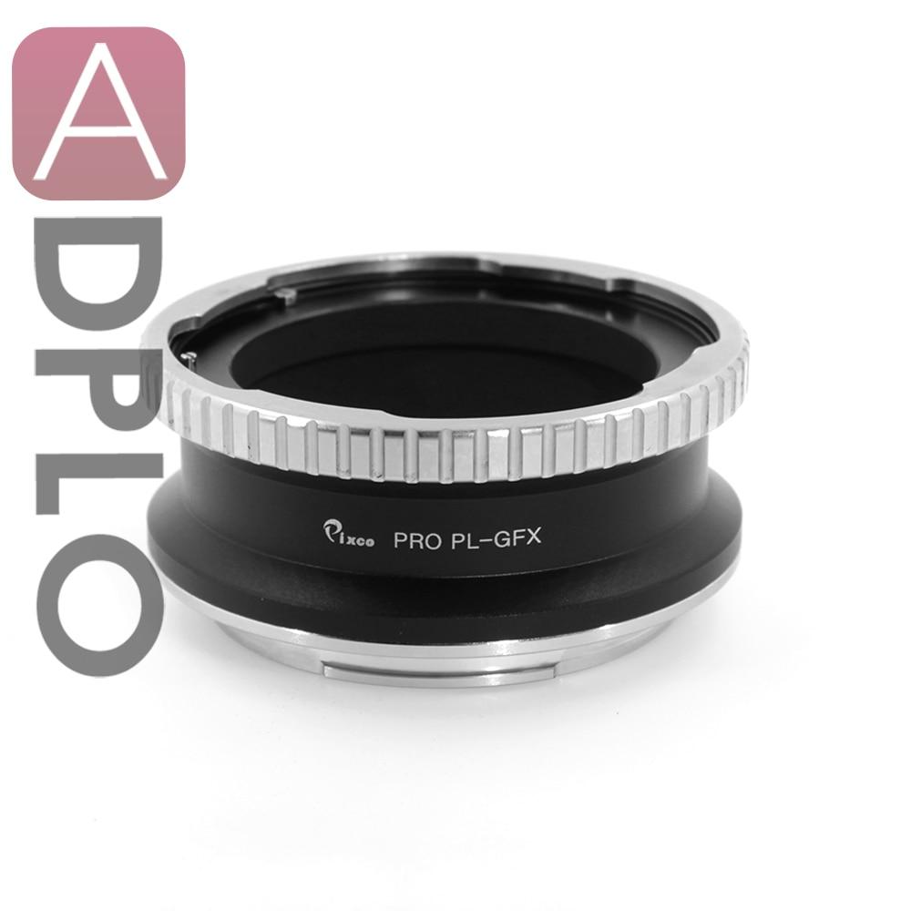 Pixco Adapter suit for PL Mount Lens to suit for Fuji GFX Medium Format Camera все цены