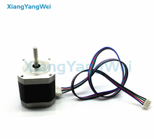 News CE certification 2 Phase Nema17 Stepper Motor 42 motor 42BYGH 1.5A 3D printer motor
