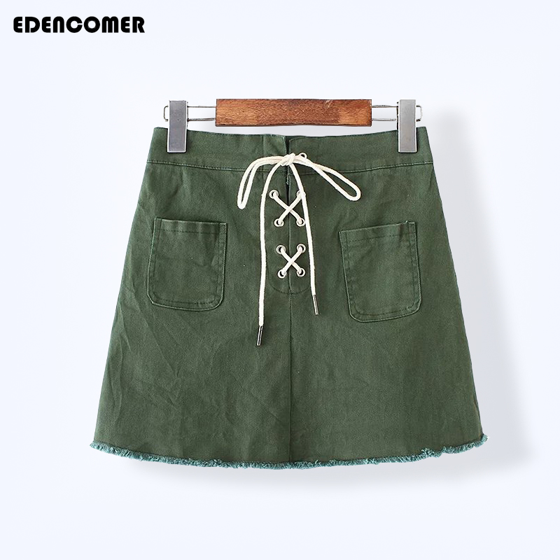 Popular Green Denim Skirt-Buy Cheap Green Denim Skirt lots from ...