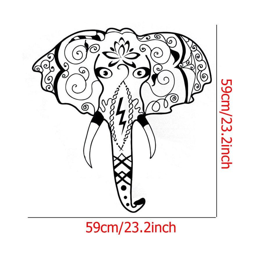 Sketsa Gambar Wajah Gajah