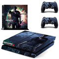 new PS4 Skin UNCHARTED 4 Sticker Decal for PlayStation 4 Console System and  Dualshock Controller