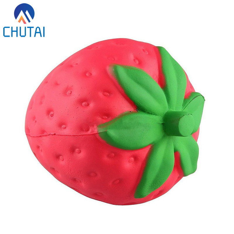 Super Jumbo Strawberry Squishi Cream Scented Squishy Slow Rising Antistress Toy Kids Grownups Squeeze Squishy Toys 11.5*9CM