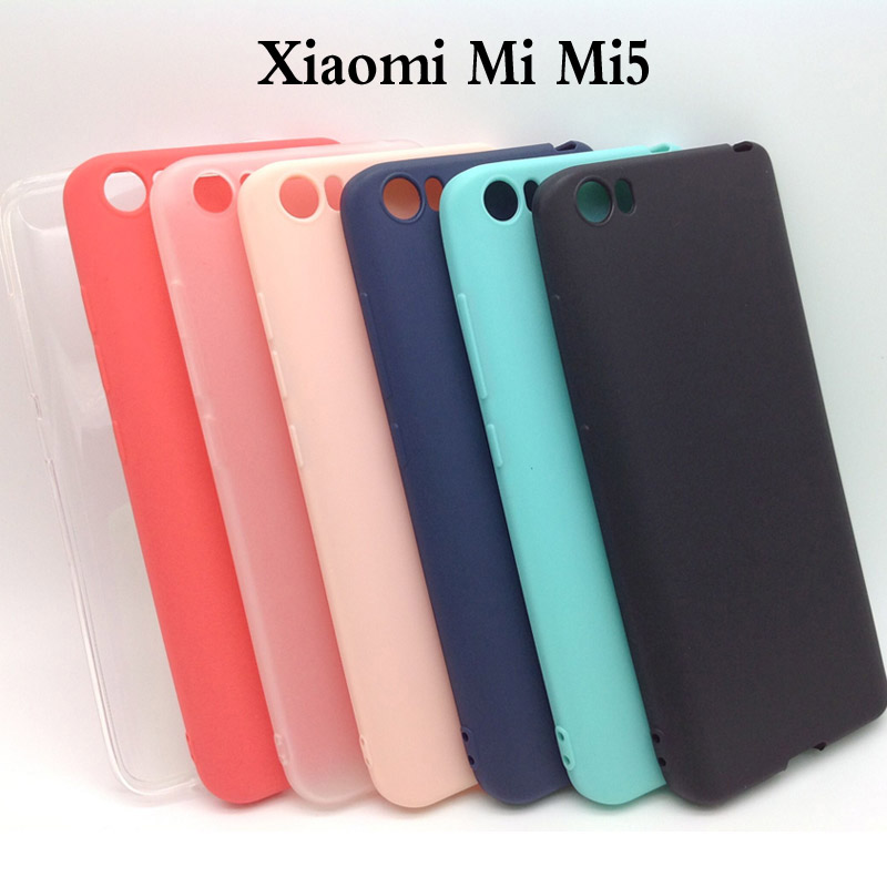 Ricestate Cover Case Xiaomi Crystal Pro-Case Soft-Silicone-Case Mi5-Pro Solid-Colors title=