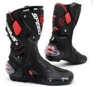 Botas Largas Carreras De Motos de Motocross profesional Calzado EU40-EU45 Speed bikers B1001