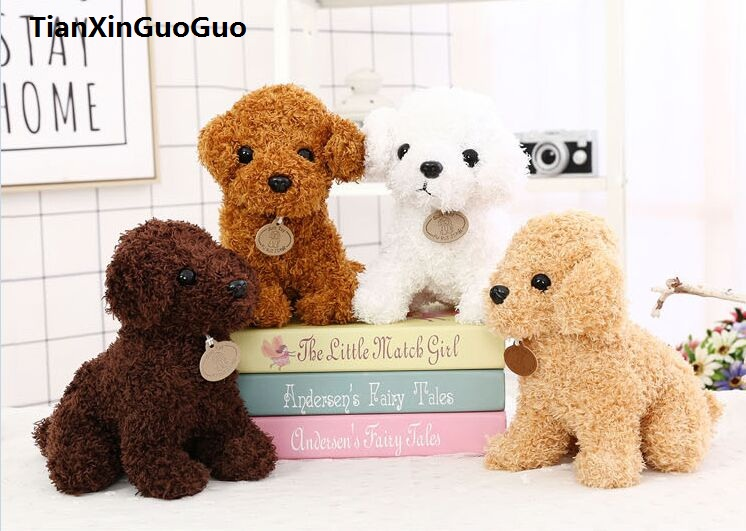 large 30cm ted dog plush toy squatting dog soft doll throw pillow Valentine's Day,birthday gift b2932 large 150cm pink panther plush toy lovely panther doll soft throw pillow birthday gift b0867