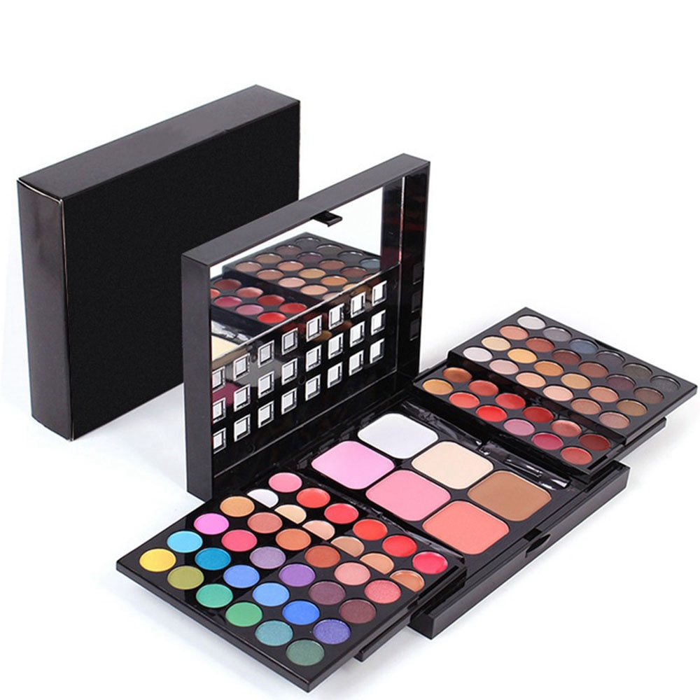 78 Colors Eyeshadow Palette Professional Makeup Set Box Lipgloss Foundation Powder Makeup Kit Woman Makeup Set Woman Cosmetic
