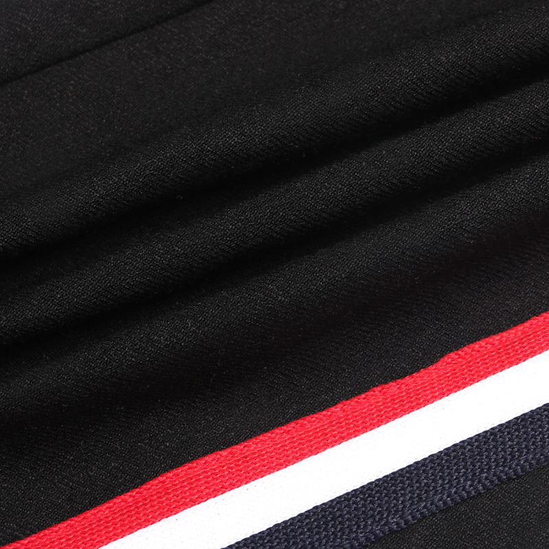 HTB13HDHdK38SeJjSZFPq6A vFXaa - FREE SHIPPING High Waist Knit Red Striped Sideseam Sweatpants JKP257