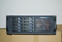 4U4410 10 disk hot plug server cabinet industrial control storage VODKTV multi hard disk box