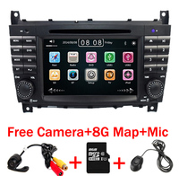 7 Inch 2 Din Car DVD Player For Mercedes Benz W203 W209 W169 W219 A Class