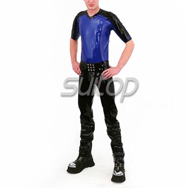 Căptușeală din latex în costum, cu tricou scurt și - Îmbrăcăminte femei - Fotografie 3