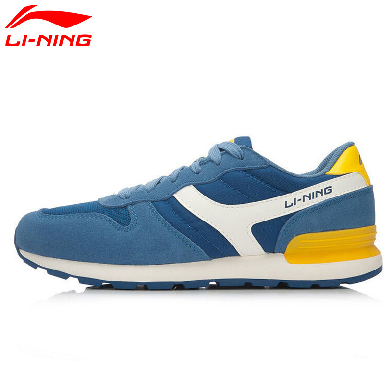 Li-Ning Men's Breathable Stability Jogging Walking Shoes LiNing Sport Life Classic Sneakers Light Comfort Sports Shoes ALCL017 li ning new arrival skateboard boot height increasing winter high top sport shoes sneakers walking shoes men alak049 xmr1159