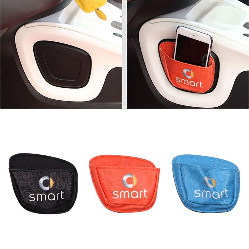 Для Smart Fortwo Forfour 453 451, автомобильный мобильный телефон, разное изделие, карта, сумка, сетка, в багажник, органайзер, сумка, автомобильный стиль