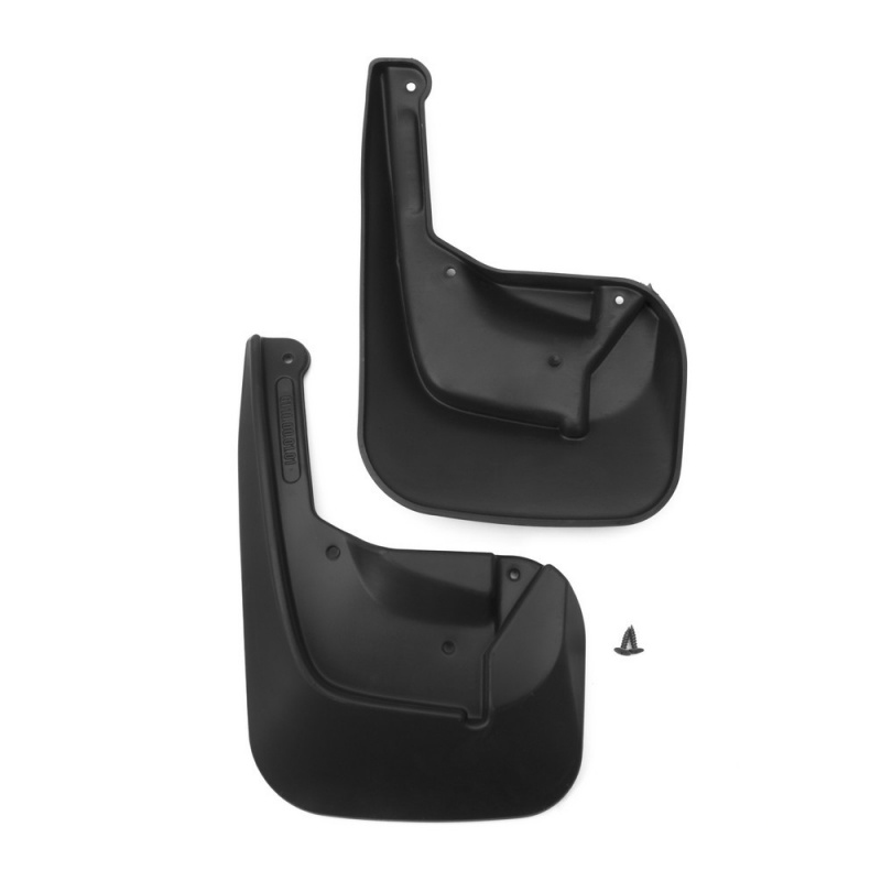 2 PCs Mud Flaps Splash Guards front mud flaps splash guard for car Auto Exterior parts For SSANG YONG New Actyon 2010-внед. Standard free shipping 2 pcs battery motor used for wl toys v911 2 4g rc helicopter parts v911 1 parts