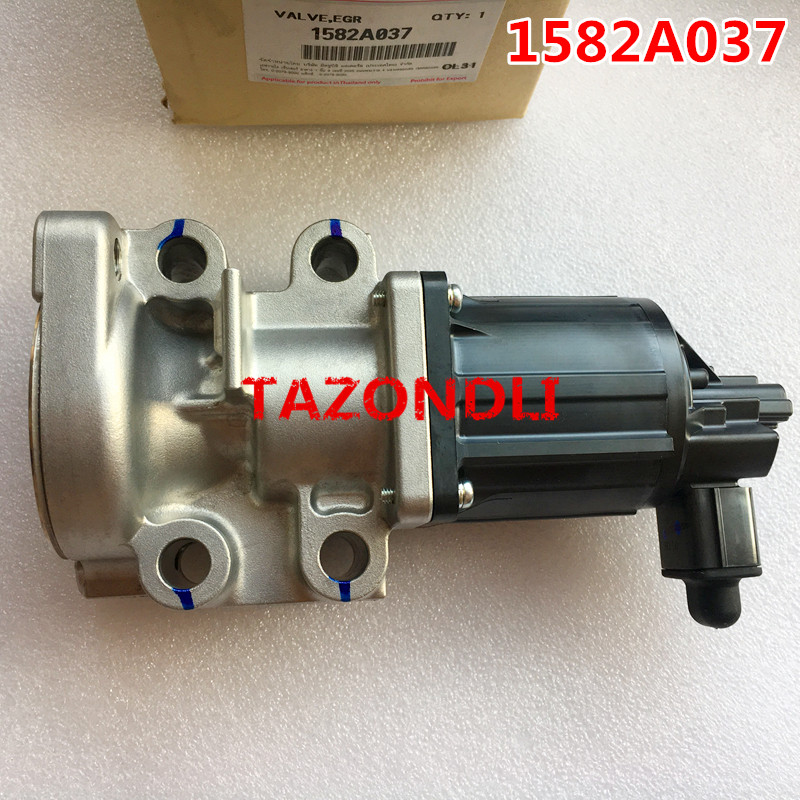 100 Original and new Genuine Exhaust Gas Recirculation EGR Valve 1582A037 For Pickup Triton L200