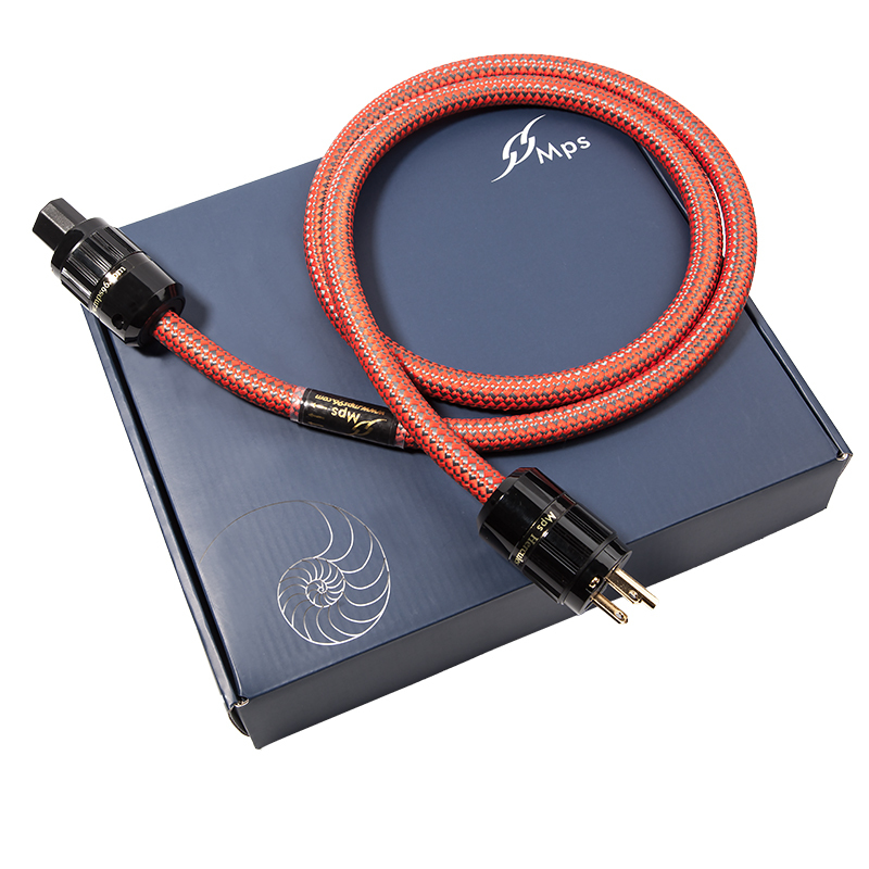HiFi MPS C 380AC HiFi 99 9997 OFC 24K Gold Plated 3Pin Power Cord Cable speaker