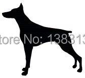 Doberman Dog Pinscher Animal Car Sticker Auto SUV, Truck Bumper ,Laptop, Home Wall, Window,Vinyl Reflective Decal Decor Style