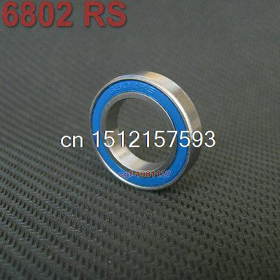 6802 2RS Si3N4 Ceramic Ball Bearing Rubber Sealed 61802 Bike Parts15x24x5mm wholesale price 2pcs chrome steel bicycle ball bearing rubber sealed for bike cycling bicycle self lubricated with grease