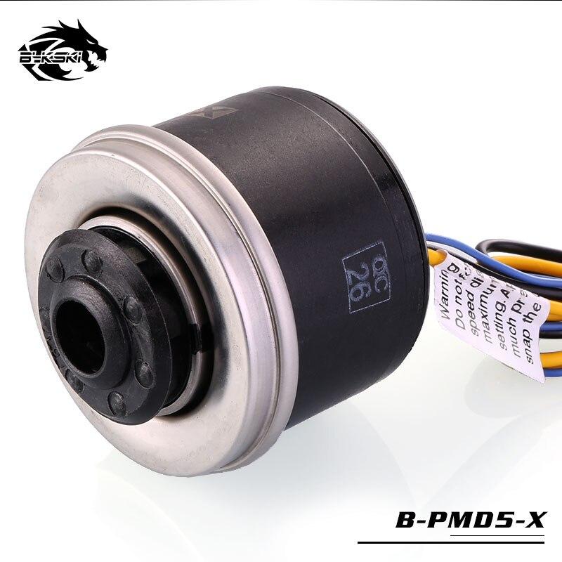 Bykski PWM Automatic Speed 18W Pump Max 5000RPM Flow 1100L H Date Feedback TDP 23W Manual