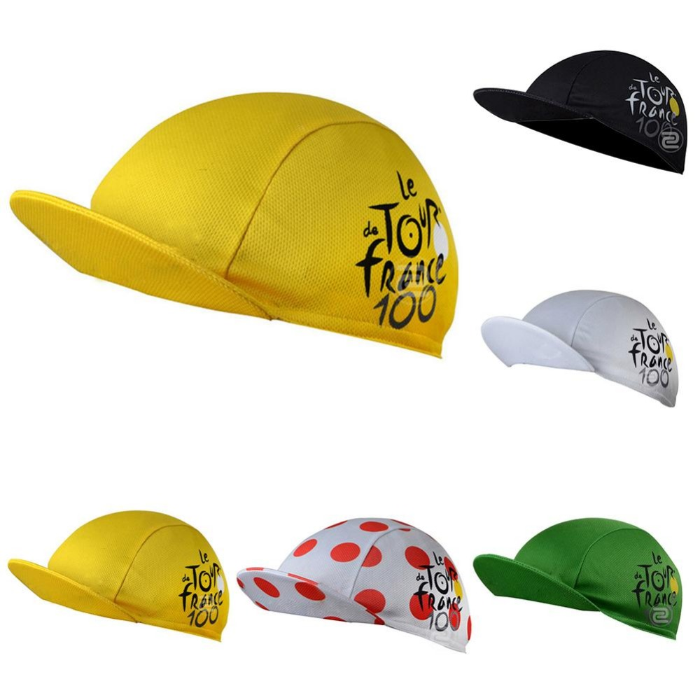 Quick-Drying Polyester Cycling Hat Bicycle Cap For Men And Women Breathable Multicolor Mesh Fabrics Free Size Hats Riding Hats