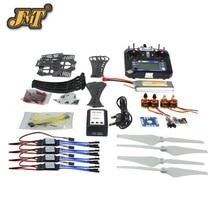 JMT DIY RC Drone Quadrocopter RTF Kit Quadro X4M360L QQSuper FS-i6 Flysky TX controlador Remoto