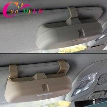 Цвет моей жизни Автомобильные держатели для очков Организатор Box Солнцезащитные очки для женщин держатель карманы для хранения Toyota Corolla Avensis C-HR chr RAV4 Auris camry
