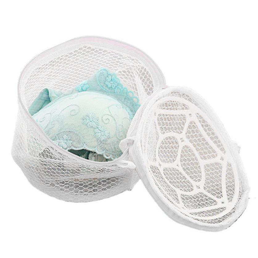 New Lingerie Underwear Bra Sock Laundry Washing Aid Net Mesh Zip Bag Rose Drop shipping30%
