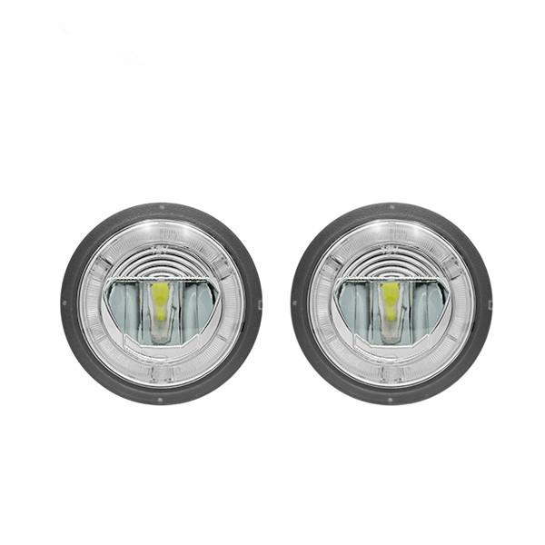 CYAN SOIL BAY DRL Led Fog Light For Camaro 10 13 Dayline Guide Halo Ring Drl
