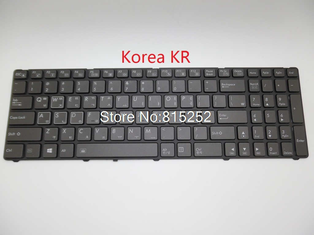 Laptop Keyboard For Gigabyte P25K P25W V2 P25W-CF1 P25W-CF2 P25W-CF3 P25X V2 P25K-CF2 V111465ES1 Korea RU United States US for sony vpceh35yc b vpceh35yc p vpceh35yc w laptop keyboard