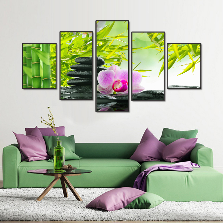 Canvas Art Online Buy Wholesale Bamboo Canvas Art From China Bamboo Canvas
