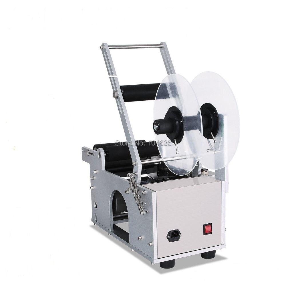 Factory Price 100% New Semi Automatic Labeling Machine,Adhesive Sticker Labeling Machine,Round Bottle Labeling Machine  MT-50