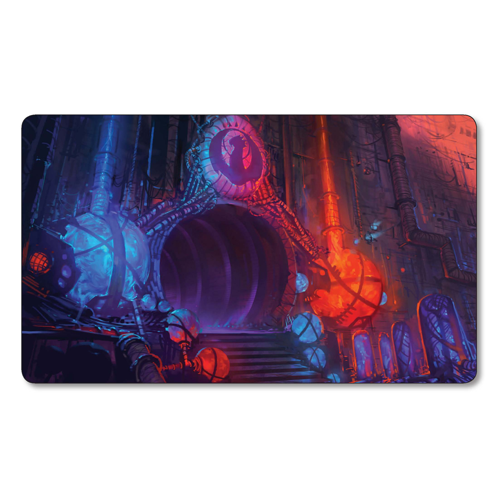 (Izzet Guildgate) Many Choice Magic Game Custom Playmat,Board Games MGT Play Mat,Custom Gather Big Mousepad with Free Bag